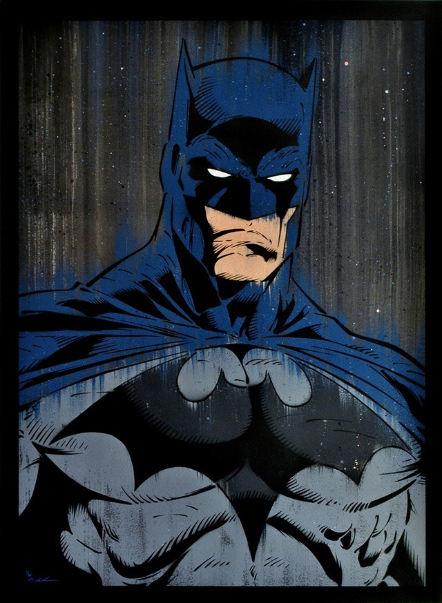 Read more about the article Michael Latimer's Superb Paintings of Batman and Superman