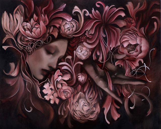 """Read more about the article """"Through The Veil"""" – New Paintings by Tatiana Suarez and Craww"""