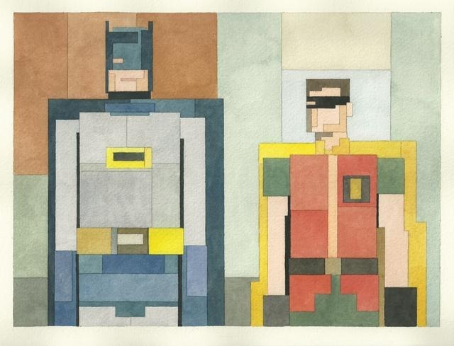 Read more about the article Adam Lister's 8-Bit Inspired Paintings of Iconic Images