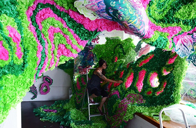 Read more about the article Pseudoscape: A Large Scale Art Installation by Crystal Wagner