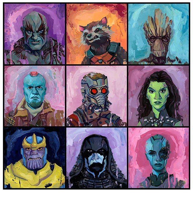 Read more about the article The Guardians of the Galaxy Art Print by Rich Pellegrino