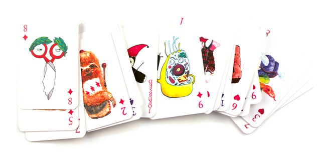 Read more about the article Deck of Playing Cards With Punny Watercolor Illustrations
