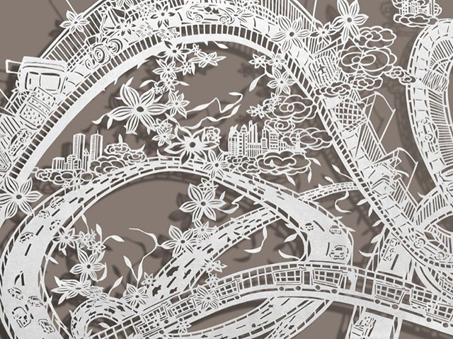 Read more about the article Awe-Inspiring Hand-Cut Paper Art by Bovey Lee