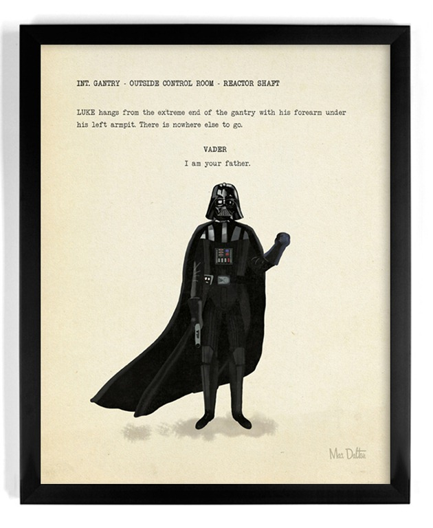 """Read more about the article """"I Am Your Father"""" – An Amazing Art Print by Max Dalton"""