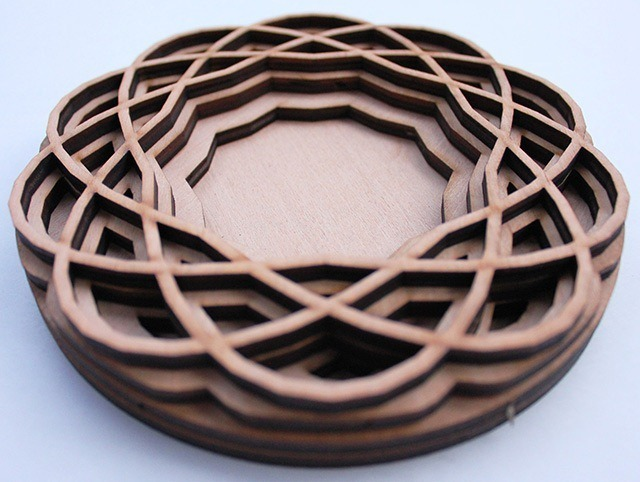 Read more about the article Fascinating Laser Cut Wood Art by Ben James