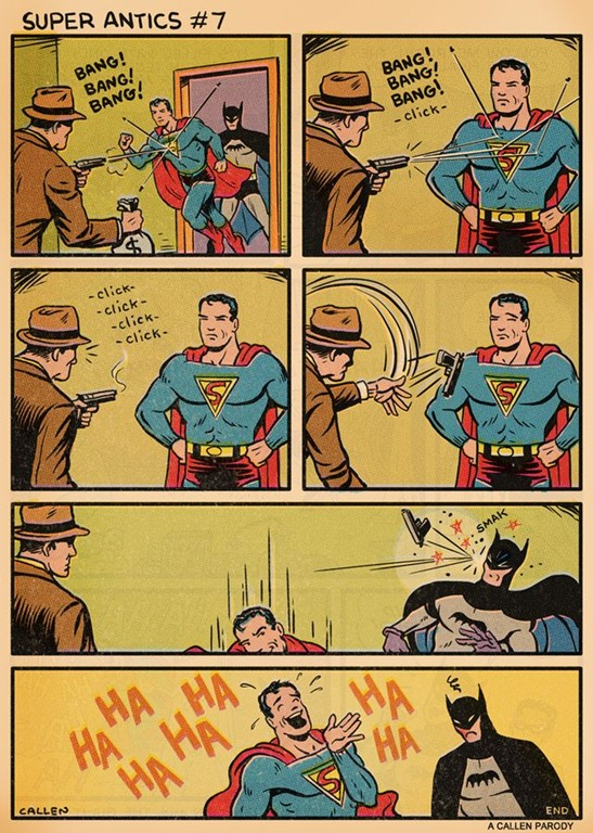 Read more about the article Superman's Antics (Comic)