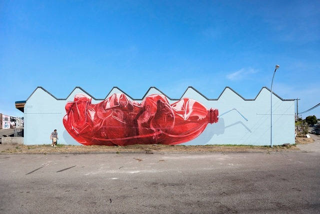 Read more about the article 'Exhausting Machine' is a Huge Street Art Mural by NEVERCREW