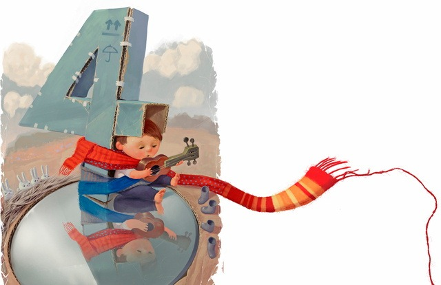 Read more about the article Whimsical Illustrations for a Children's Book by Rimas Valeikis