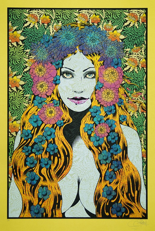 Read more about the article 'Helikon' – Solo Art Exhibit Featuring the Sensational Poster Art of Artist Chuck Sperry