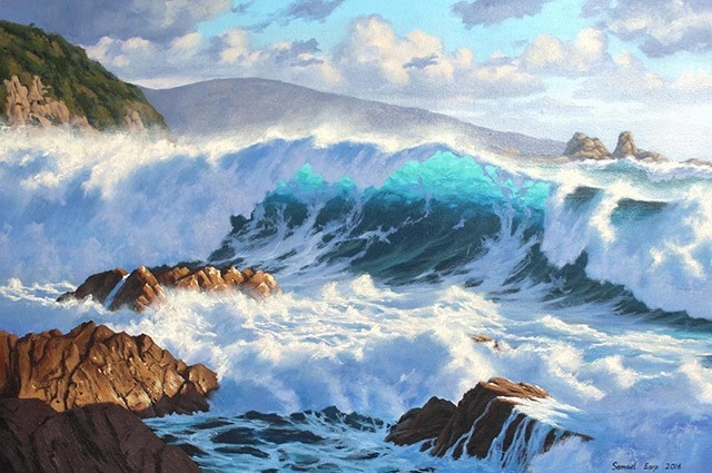 Read more about the article Stunning Landscape Paintings by Samuel Earp