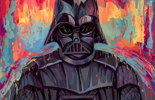 Read more about the article Must See Star Wars 'Dark Side' Portraits by Rich Pellegrino