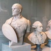 Superheroes-Classical-Sculptures-Leo-Caillard-Captain-America-2-(1)
