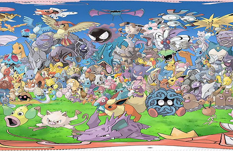 Read more about the article All 150 Original Pokémon in a Single 360 Degree Artwork