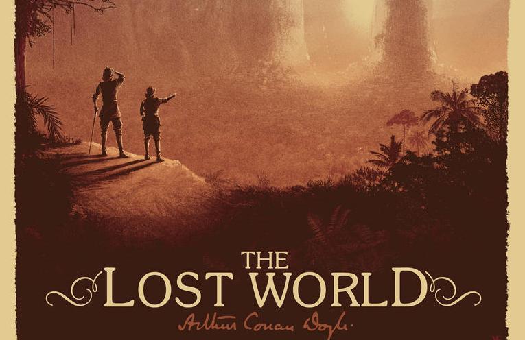 Read more about the article Sir Arthur Conan Doyle's 'The Lost World' Art Print by Matt Ferguson