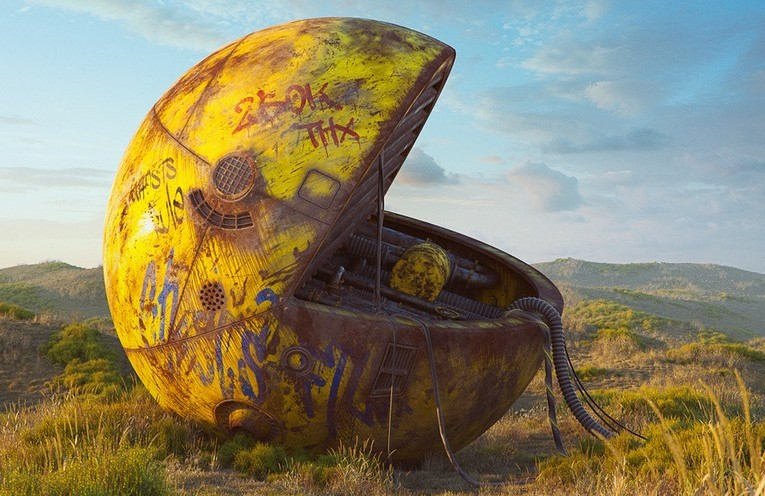 Read more about the article Pop Culture Icons in Dystopia – Digital Art by Filip Hodas