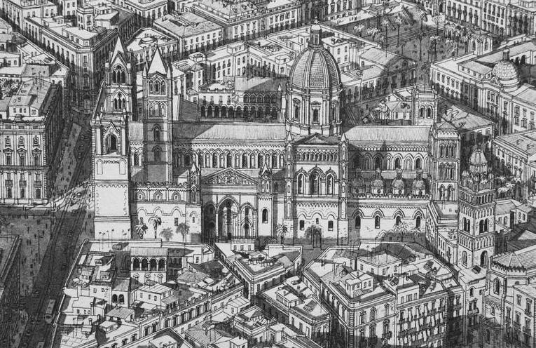Read more about the article Intricate Cityscapes Drawn From Memory by Stefan Bleekrode