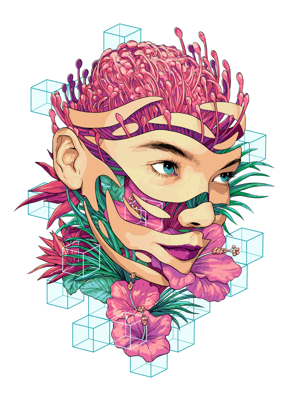 Read more about the article The Psychedelic Illustrations of Matt Chu