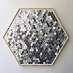 Hannah & Nemo's Upcycled Moving Mosaic Hexagons