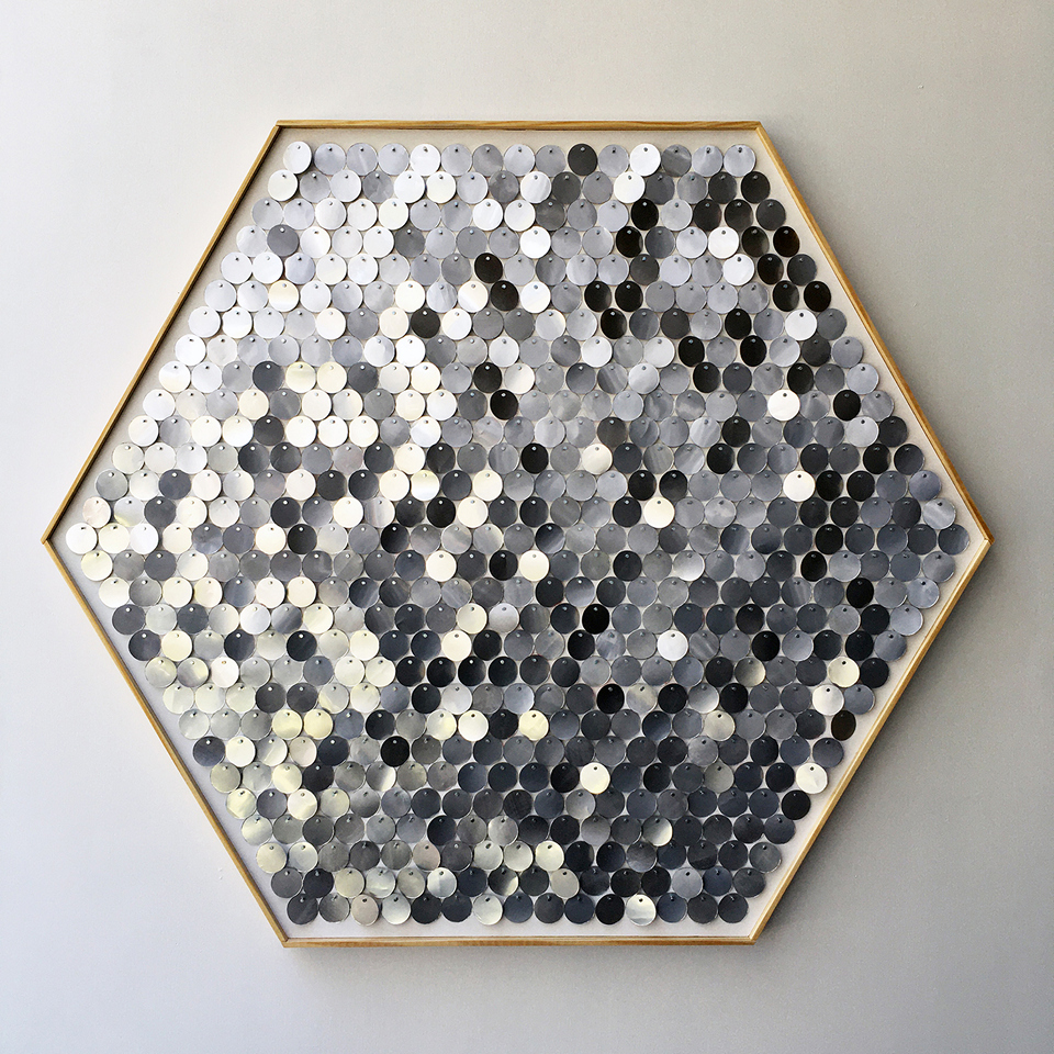 Read more about the article Hannah & Nemo's Upcycled Moving Mosaic Hexagons